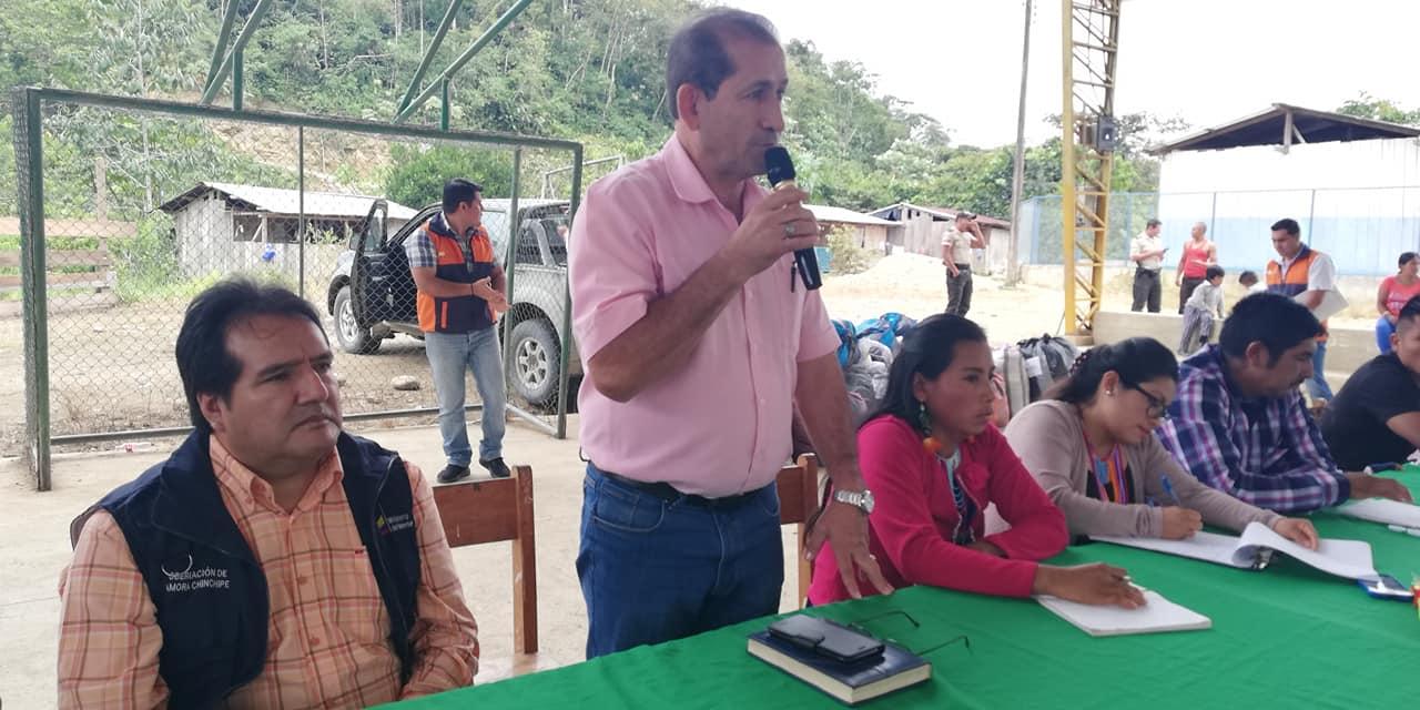 ALCALDE PARTICIPÓ DE ANIVERSARIO DE LA ASOCIACIÓN SHUAR TAYUNTS.