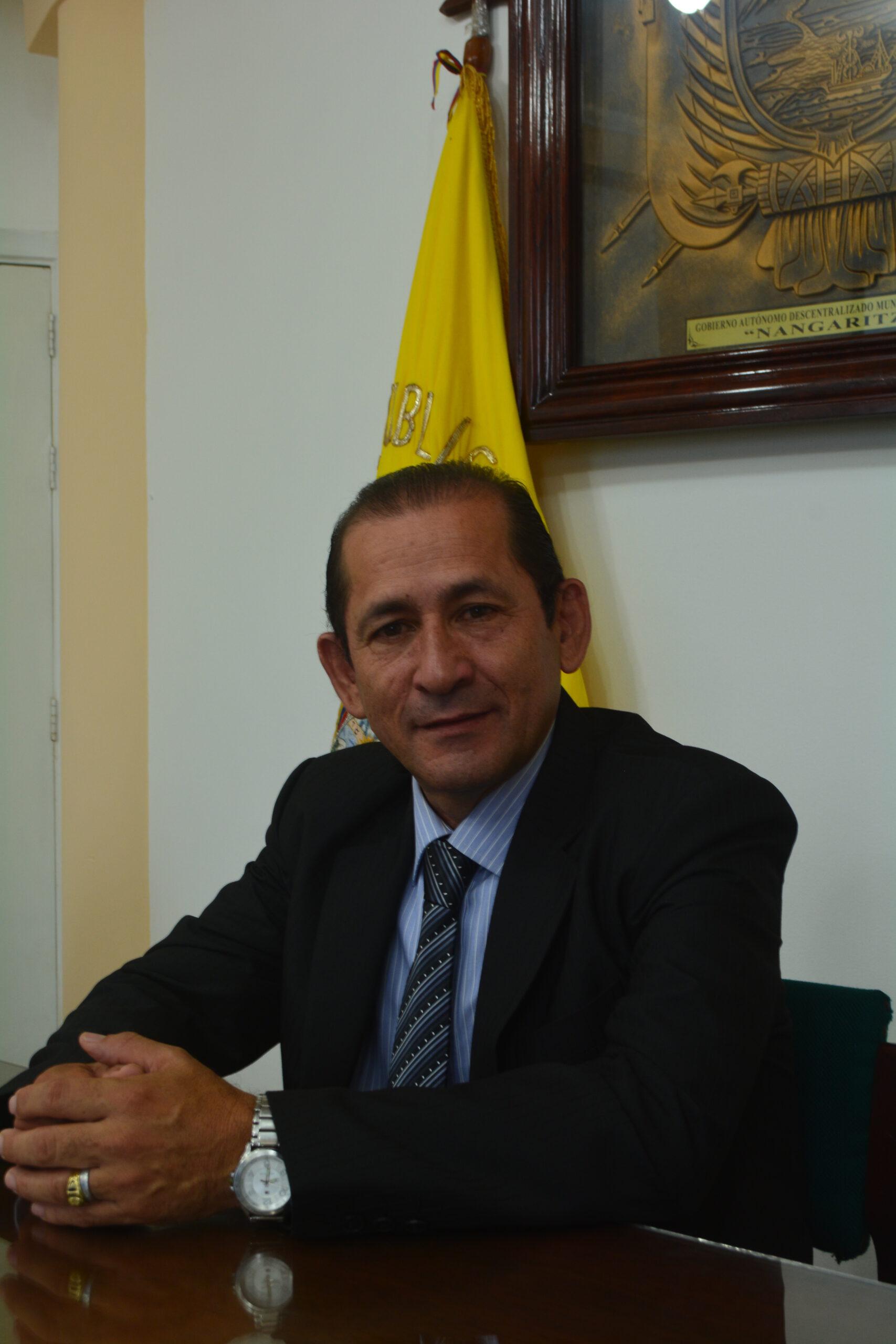 FREDY ARMIJOS ALCALDE DE NANGARITZA, ES ELECTO PRESIDENTE DE LA MIMZACH